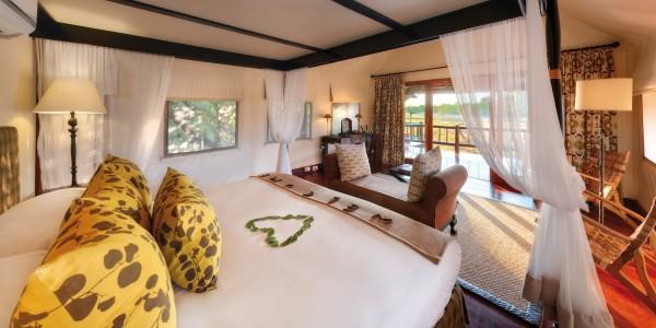 Botswana - Moremi - Khwai River Lodge - Room