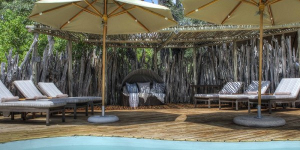 Botswana - Moremi - Okuti Camp - Pool