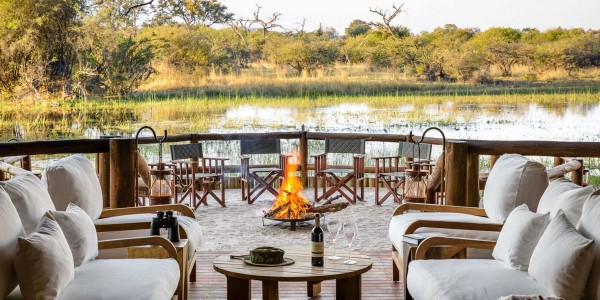 Botswana - Moremi - Sanctuary Chief's Camp - Outside