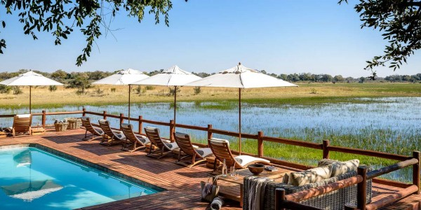 Botswana - Moremi - Sanctuary Chief's Camp - Pool