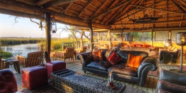 Botswana - Moremi - Xakanaxa Camp - Lounge