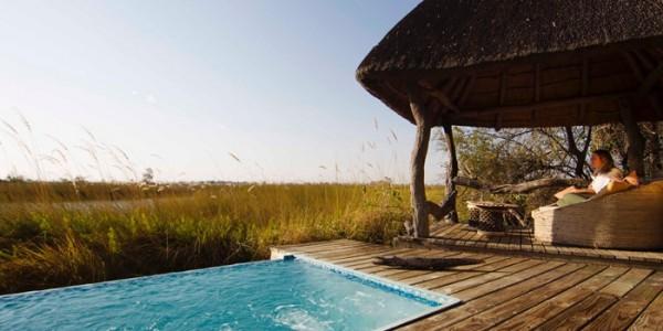 Botswana - Moremi - Xakanaxa Camp - Pool