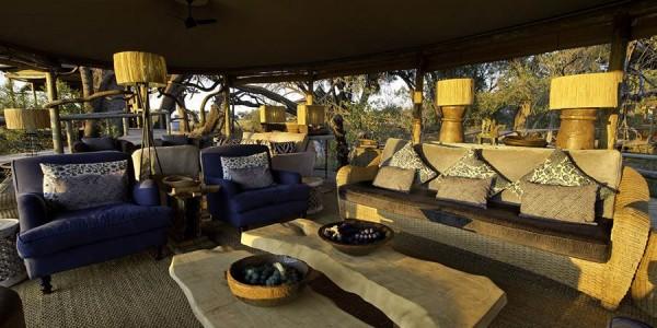 Botswana - Okavango Delta - Little Vumbura Camp - Lounge
