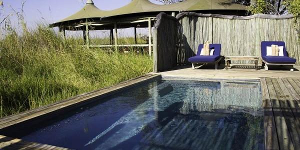 Botswana - Okavango Delta - Little Vumbura Camp - Pool