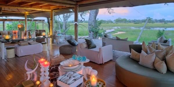 Botswana - Okavango Delta - Xaranna Okavango Delta Camp - Lounge