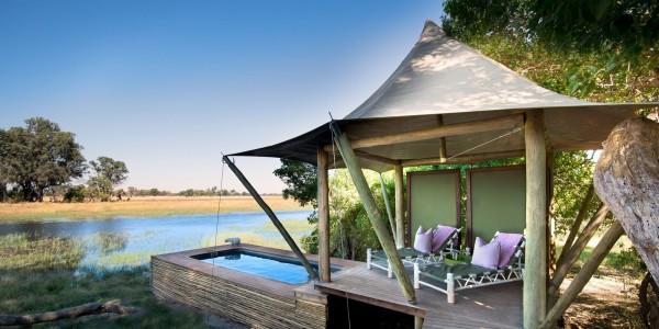Botswana - Okavango Delta - Xaranna Okavango Delta Camp - Pool