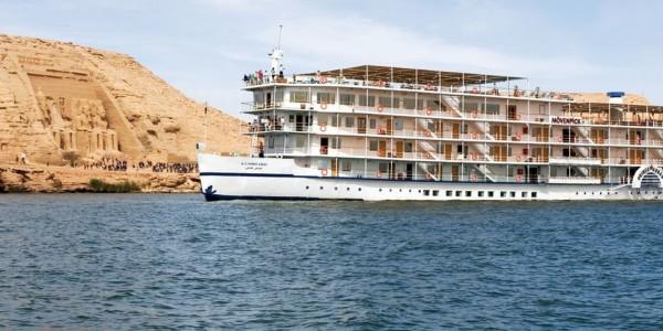 Egypt - Abu Simbel - Movenpick MS Prince Abbas - Overview