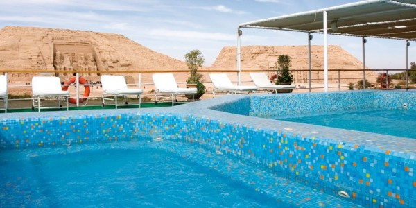 Egypt - Abu Simbel - Movenpick MS Prince Abbas - Pool