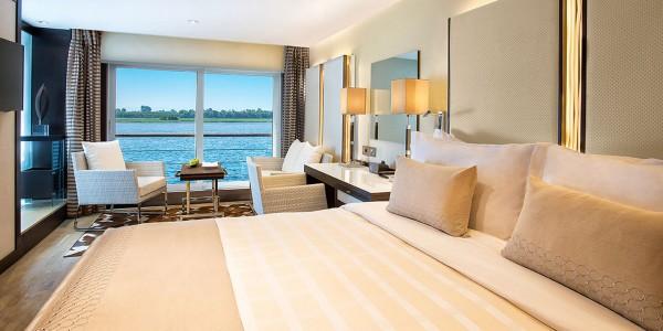 Egypt - Nile Cruises - Oberoi Philae - Room