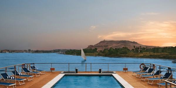 Egypt - Nile Cruises - Oberoi Zahra - Deck