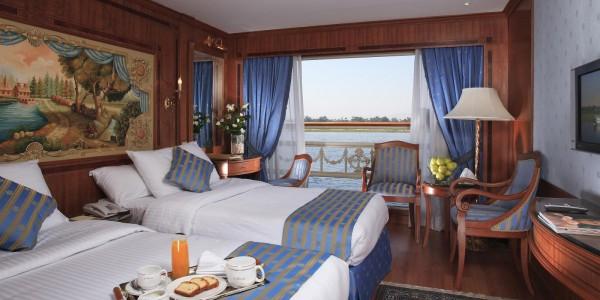 Egypt - Nile Cruises - Sonesta St George 1 Nile - Cabin