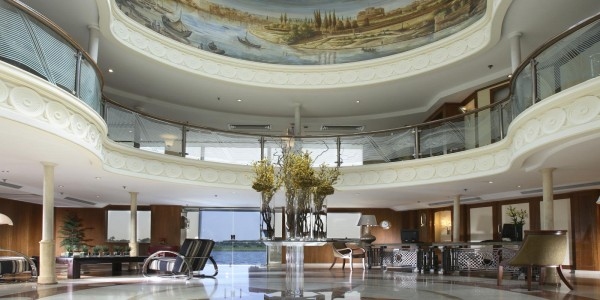 Egypt - Nile Cruises - Sonesta Star Goddess - Lobby
