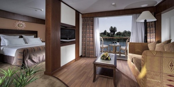 Egypt - Nile Cruises - Sonesta Star Goddess - Suite