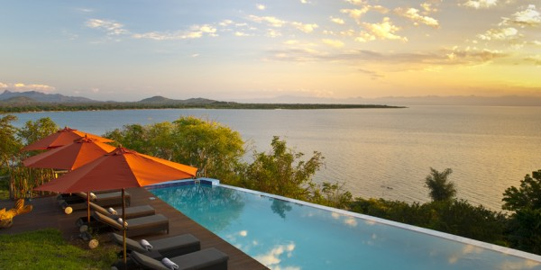 Malawi - Lake Malawi - Pumulani - Pool (credit Robin Pope Safaris)