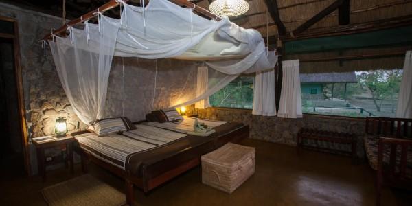 Malawi - Liwonde National Park - Mvuu Camp - Family Chalet