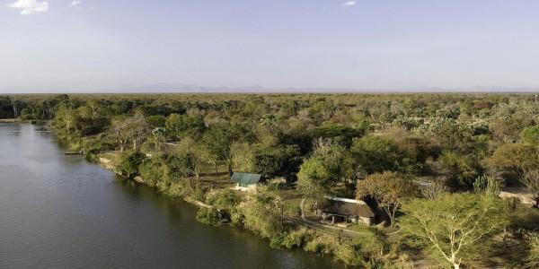 Malawi - Liwonde National Park - Mvuu Camp - Overview
