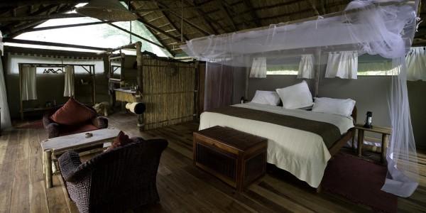 Malawi - Liwonde National Park - Mvuu Lodge - Tent 2