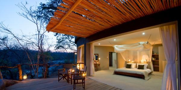 Malawi - Majete Wildlife Reserve - Mkulumadzi Cottage - Room (credit Robin Pope Safaris)
