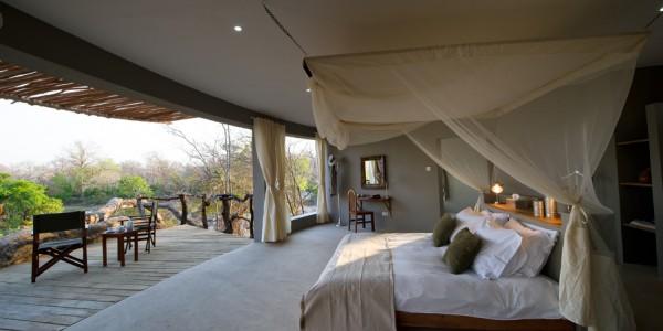 Malawi - Majete Wildlife Reserve - Mkulumadzi Cottage - Room2 (credit Robin Pope Safaris)