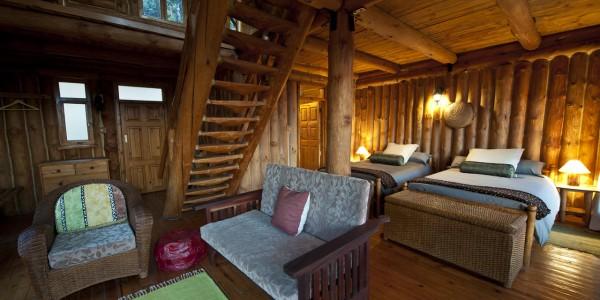 Malawi - Nyika Plateau National Park - Chelinda Lodge - Bedroom