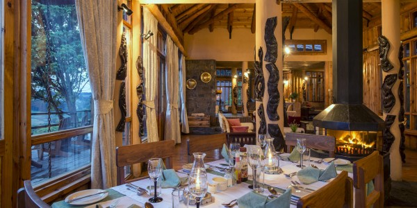 Malawi - Nyika Plateau National Park - Chelinda Lodge - Dining Area