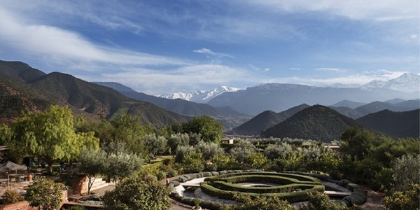 Morocco - Atlas Mountains - Kasbah Bab Ourika - Garden