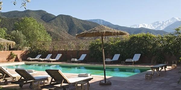 Morocco - Atlas Mountains - Kasbah Bab Ourika - Pool