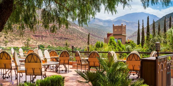 Morocco - Atlas Mountains - Kasbah Tamadot - Dining