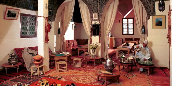 Morocco - Atlas Mountains - Kasbah du Toubkal - Dining Room