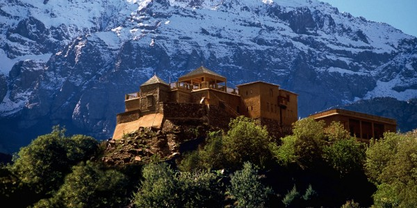 Morocco - Atlas Mountains - Kasbah du Toubkal - Overview