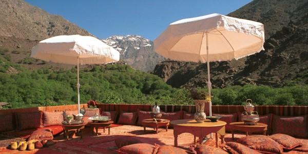 Morocco - Atlas Mountains - Kasbah du Toubkal - Terrace