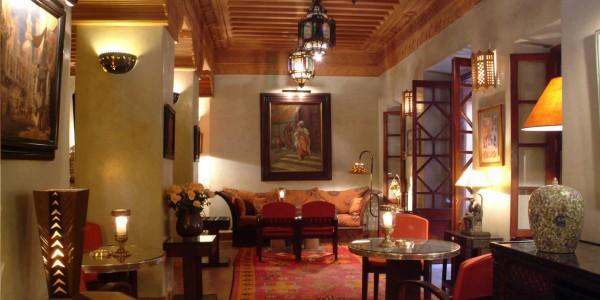 Morocco - Marrakech - La Maison Arabe - Hotel