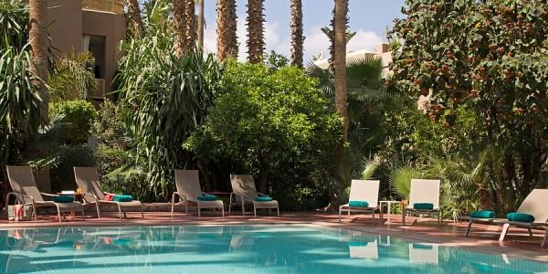 Morocco - Marrakech - Les Jardins de la Medina - Pool