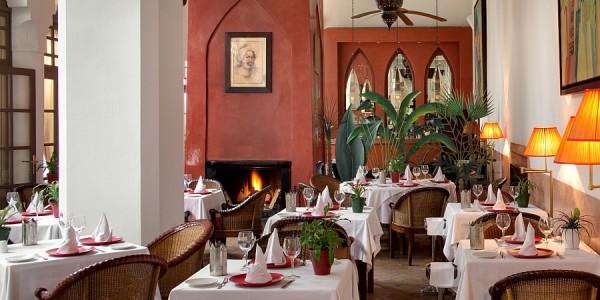Morocco - Marrakech - Les Jardins de la Medina - Restaurant