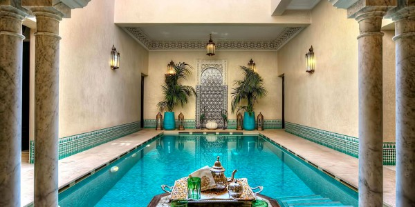 Morocco - Marrakech - Riad Kniza Marrakech - Pool