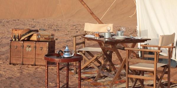Morocco - Zagora & Erfoud - Azalai Desert Lodge - Camp