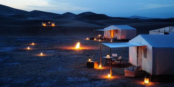 Morocco - Zagora & Erfoud - Azalai Desert Lodge - Night