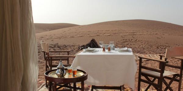 Morocco - Zagora & Erfoud - Azalai Desert Lodge - View