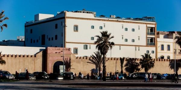 Morroco - Essaouira & Oualidia - Heure Bleue Palais - Overview