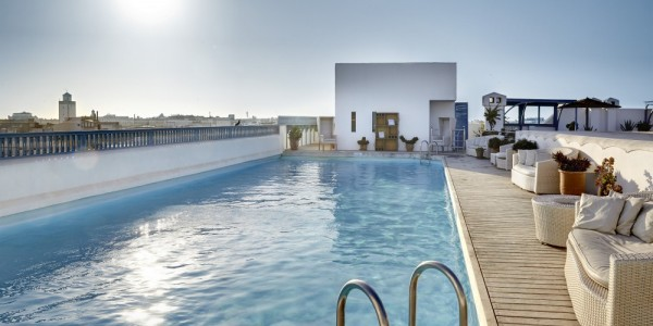 Morroco - Essaouira & Oualidia - Heure Bleue Palais - Pool