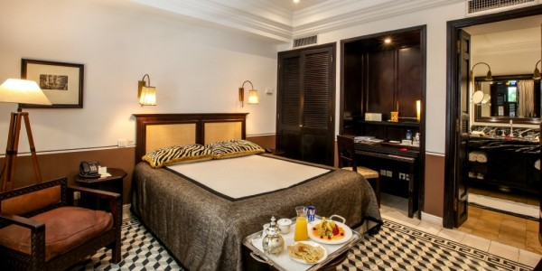 Morroco - Essaouira & Oualidia - Heure Bleue Palais - Room