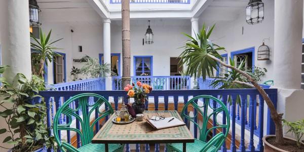 Morroco - Essaouira & Oualidia - Villa Maroc - Inside