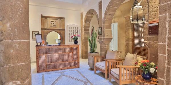 Morroco - Essaouira & Oualidia - Villa Maroc - Reception