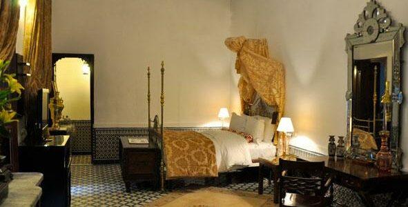 Morroco - Fes - La Maison Bleue - Deluxe Room