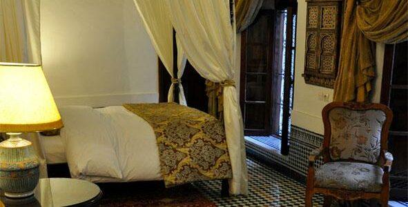 Morroco - Fes - La Maison Bleue - Room