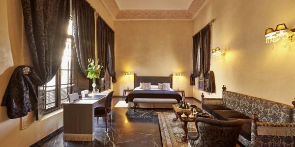 Maroc, Fes, Riad Fes Relais et Chateau, Architecture