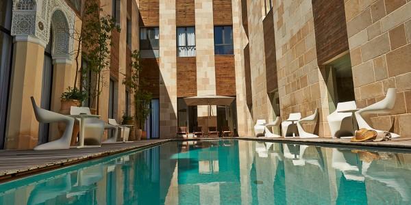 Maroc, Fes, Riad Fes Relais & Chateax, Architecture