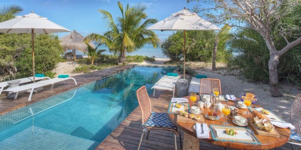 Mozambique - Bazaruto Archipelago - Azura Benguerra - Villa Amizade Pool