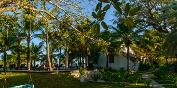 Mozambique - Quirimbas Archipelago - Ibo Island Lodge - Garden