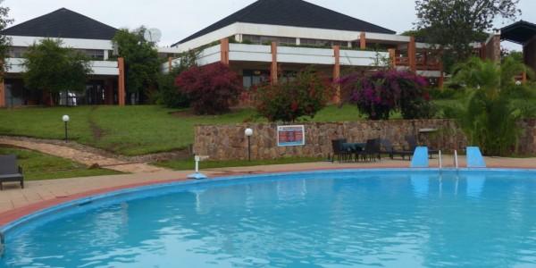 Rwanda - Akagera National Park - Akagera Game Lodge - Pool